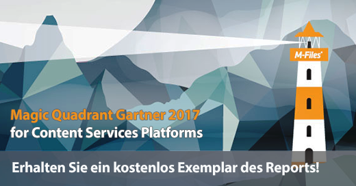 Kostenloser Magic Quadrant Gartner 2017 zum Download